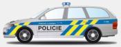 Vůz Policie České republiky