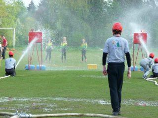 Soutěže mladých hasičů v rámci celoroční hry Plamen