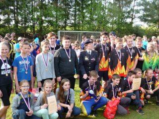 Vyhlášení výsledků květnového kola Hry Plamen a soutěží dorostu v Sedlci