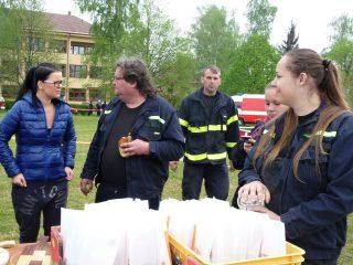 Jarní kolo hry Plamen a mladí hasiči